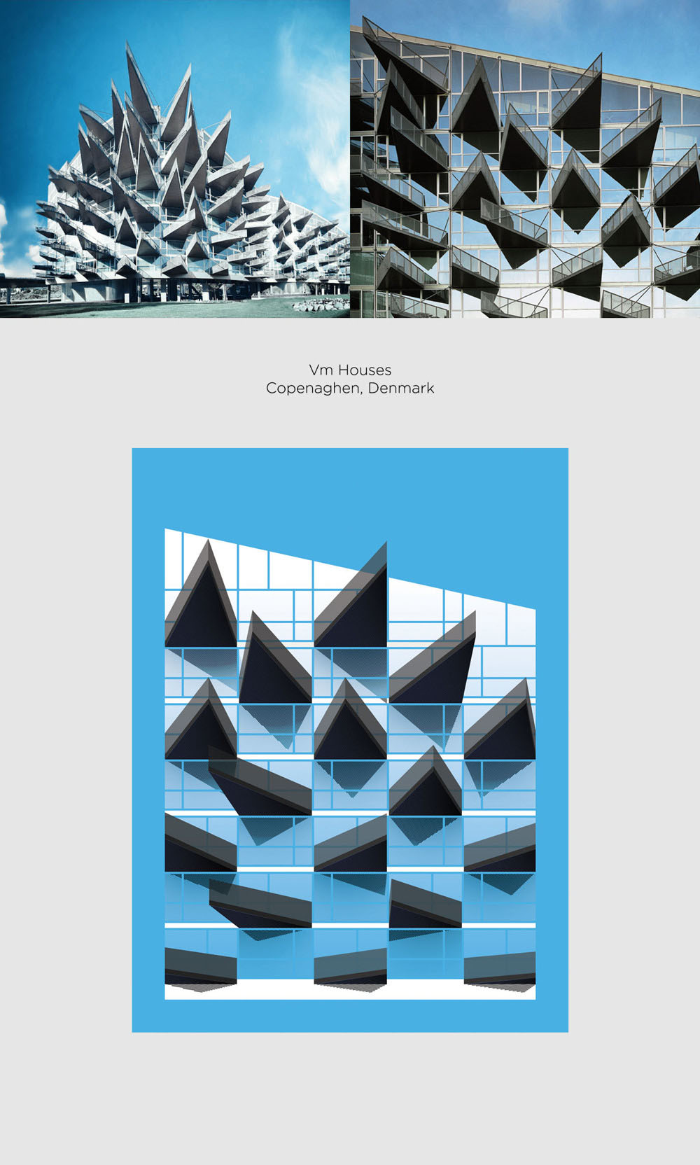 VM houses by Bjarke Ingles Group (BIG) + JDS Architects poster
