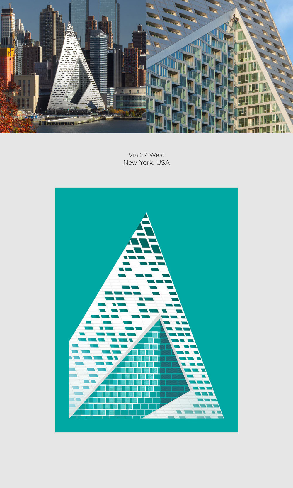 Via 57 West by Bjarke Ingles Group (BIG) poster