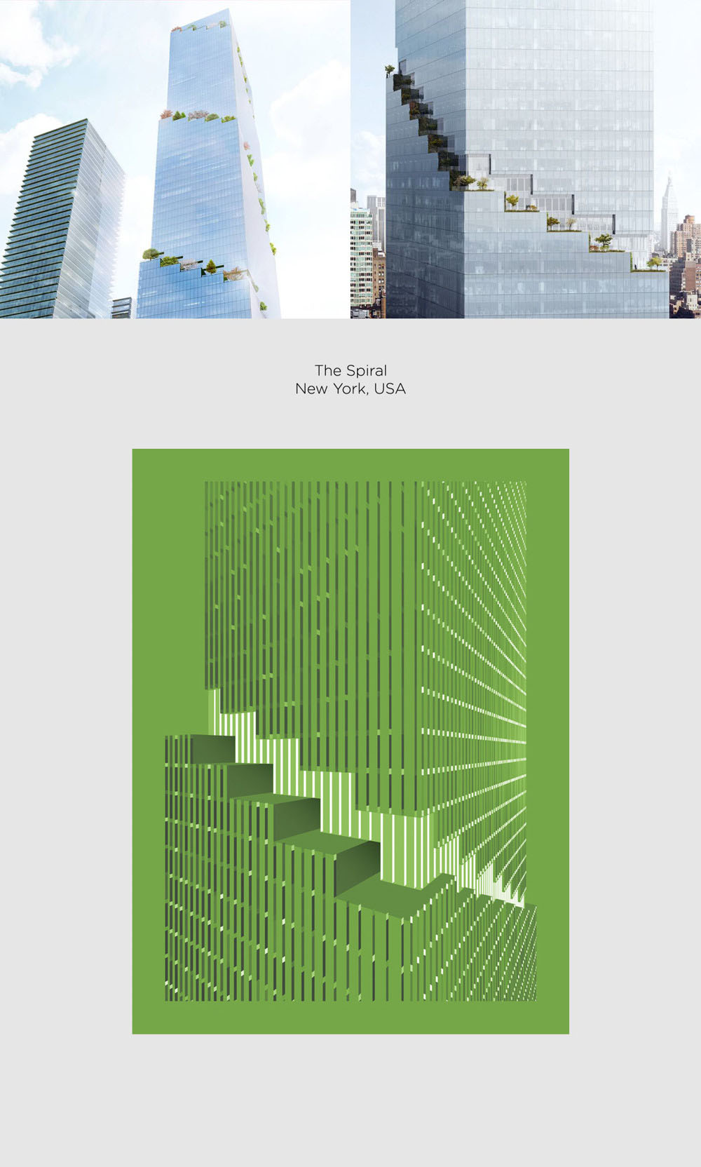 The Spiral by Bjarke Ingles Group (BIG) poster